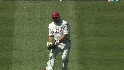 Victorino&#039;s nice grab