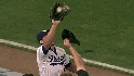 Podsednik's catch in foul ground