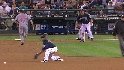 Saunders doubles off Choo