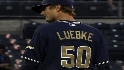 Luebke's Major League debut
