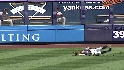 Gardner can't corral fly ball