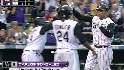CarGo's three-run dinger