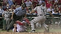 Maybin&#039;s two-run double