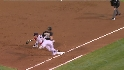 Suzuki scores on double play