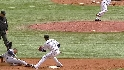 Jennings&#039; first MLB steal