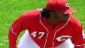 Seventh heaven for Cueto