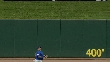 Byrd&#039;s leaping catch at the wall