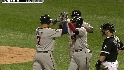 Mauer's three-run blast