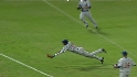 Castro's diving catch