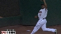 Bourn's tough catch