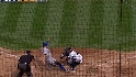 Lopez gets the out at home