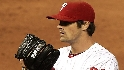 Hamels strikes out six