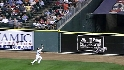 Wells&#039; running catch