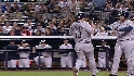 Upton's two-run double
