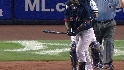 Hall&#039;s three-run homer