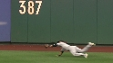 Beltran's diving catch