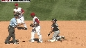 Conger&#039;s first caught stealing