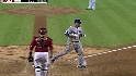 Barajas&#039; two-run homer