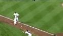 Thole's diving catch