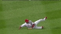 Francisco&#039;s sliding catch