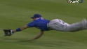 Fukudome&#039;s diving grab