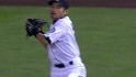 Ichiro throws out Carter