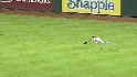 Hunter&#039;s diving catch