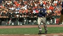 Hairston&#039;s RBI walk