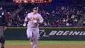 Cust's deflected solo homer