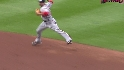 Espinosa&#039;s nice play