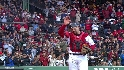 Varitek gets an ovation