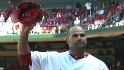 Fans cheer Pujols, Holliday