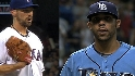 Rangers, Rays ready for Game 1