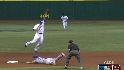 Hamilton steals second