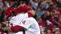 Halladay finishes the no-no