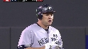 Berkman's RBI double