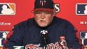 Gardenhire on being eliminated