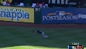 Joyce's diving catch
