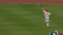 Victorino's terrific catch