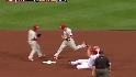 Utley wins the footrace