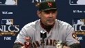 Bochy's postgame thoughts