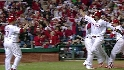 Rollins' three-run double