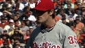 Hamels whiffs seven in Game 3
