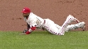 Howard's diving catch