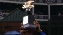 Rangers receive AL trophy