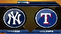 Recap: NYY 1, TEX 6