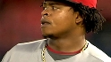 Analyzing Volquez's suspension
