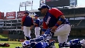 Rangers prepare for Giants