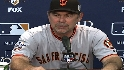 Bochy on Game 3 loss