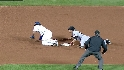 Torres steals second